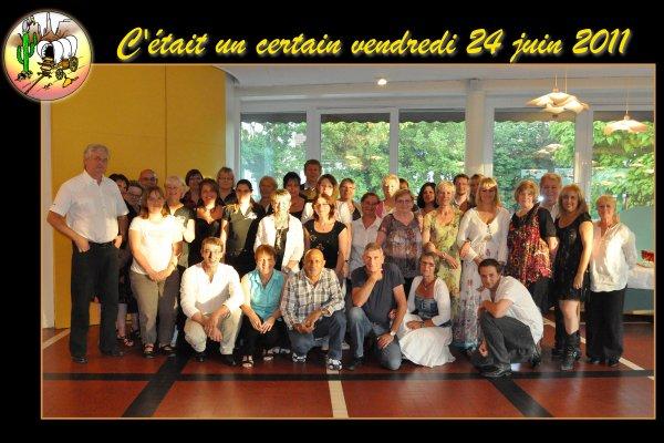 Repas de fin d'année - 24 juin 2011