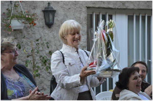 Repas de fin d'année à Louvigny -  22 juin 2012