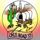 ONLY ROAD 57