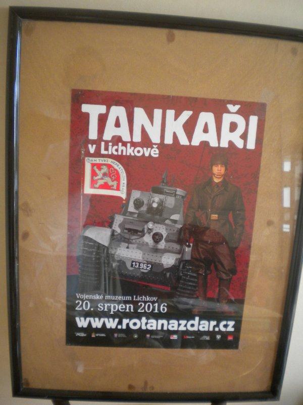 Tankaři v Lichkově 2016