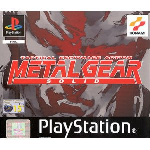 Metal Gear Solid Playstation