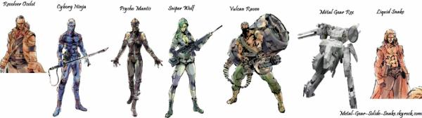 Boss Metal Gear Solid