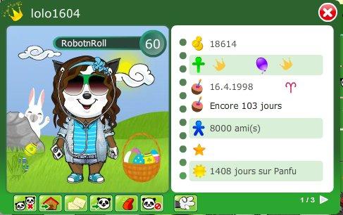 Lolo 1604 bat les records :D !!