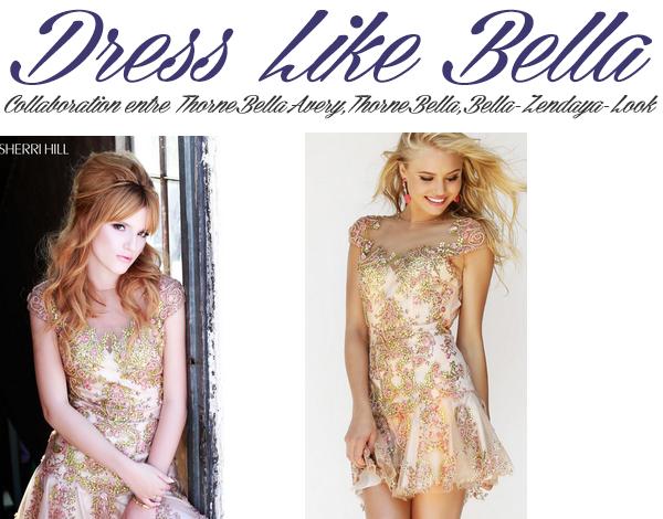 Adopte le look de Bella lors du photoshoot pour Sherri Hill (partie 5)