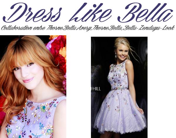 Adopte le look de Bella lors du photoshoot pour Sherri Hill (partie 6)