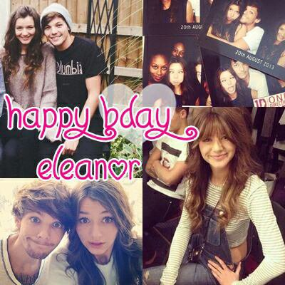 Happy Birthday Eleanor ♥