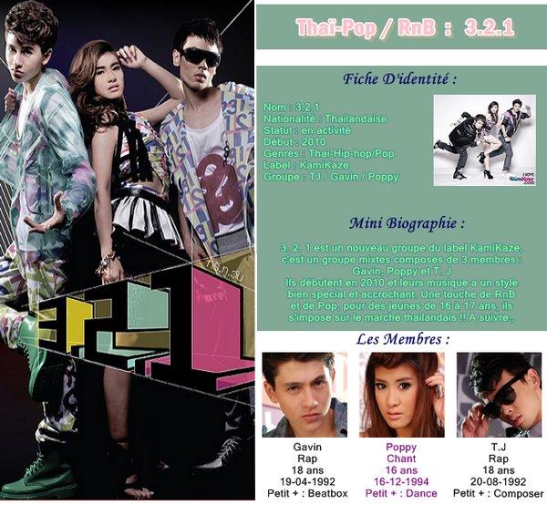 Thaï-Pop : 3.2.1 Groupe