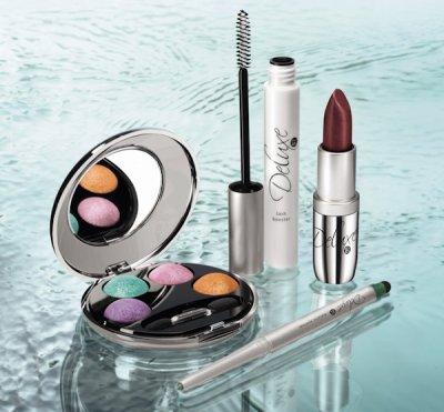 la gamme de maquillage  deluxe