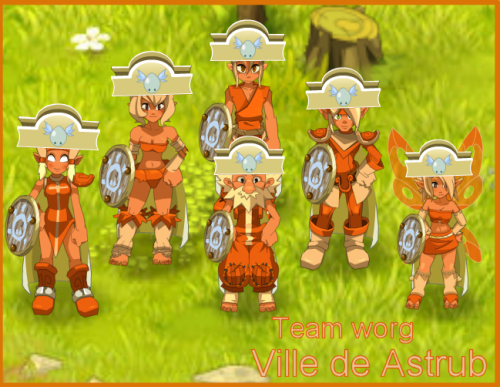 Team worg à la découverte de Astrub!