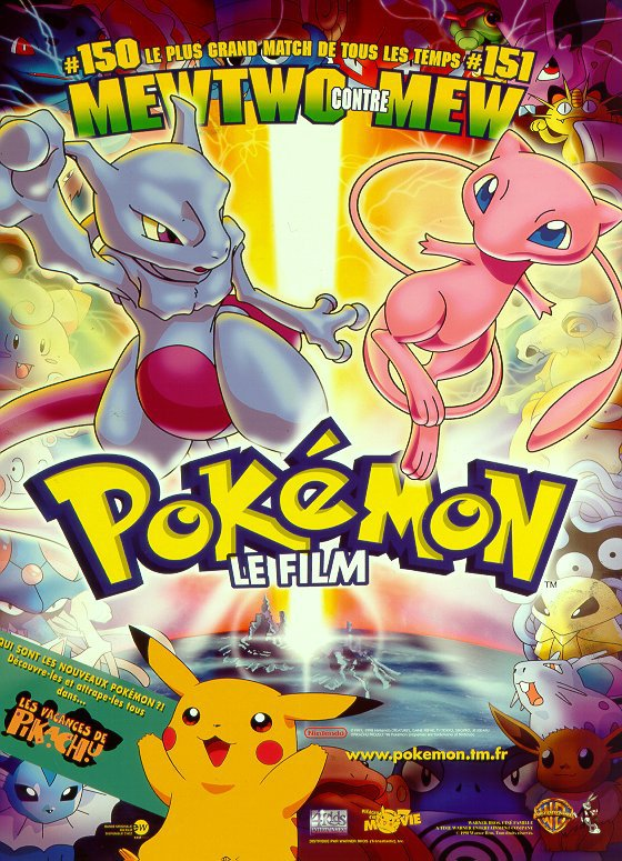 Pokemon le film : Mewtwo contre attaque
