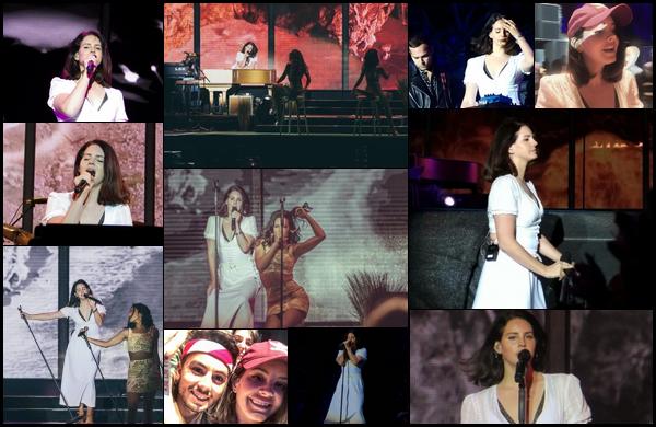 29.06.2018 : Lana Del Rey , a donné un concert lors de l'aérodrome festival à Prague en République Tchèque
