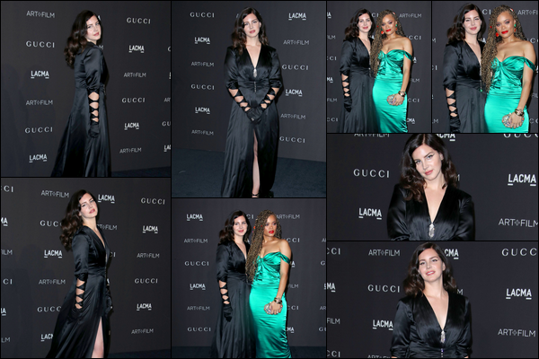 03.11.2018 : Lana Del Rey  était présente au  « LACMA Art + Film Gala  »  organisé par Gucci à Los Angeles