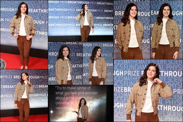 04.11.2018 : Lana  était  au  « 7th annual 2019 Prize Ceremony at NASA Ames Research Center  »  en Californie