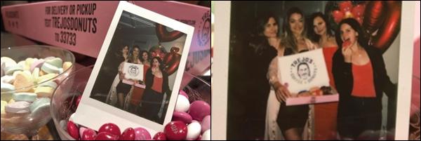 14.02.2019 :Lana Del Rey a passé la Saint Valentin avec des amis dans un hôtel de Beverly Hills en Californie  Les photos ne sont malheureusement pas de bonne qualité néanmoins Lana Del Rey est toujours aussi jolie - Un top !