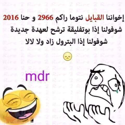 vous les kabyle vous êtes en 2967 alors dites nous esque boutf sera encore président et esque le pitrol augmenteras
