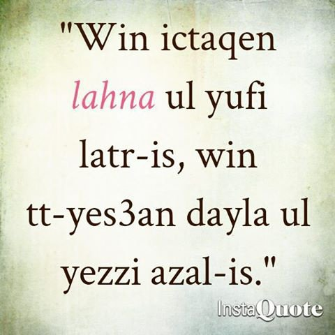 proverbe kabyle