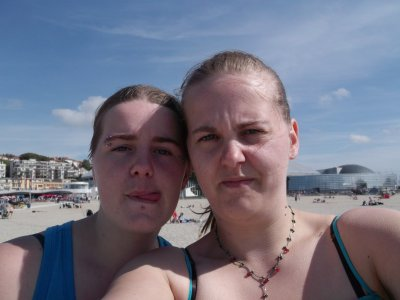 Moi et ma Soeur a Boulogne