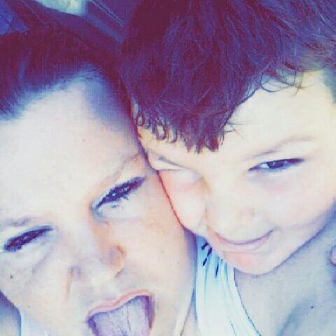 Mon fils nathanael et moi