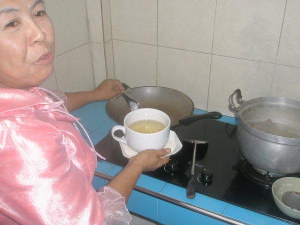 Cours de cuisine a Sukhothai