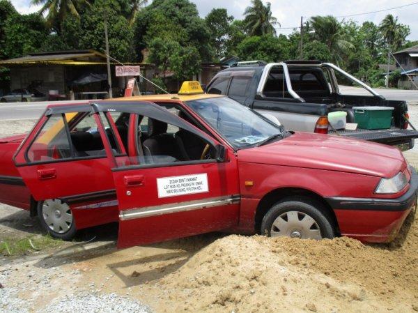 Taxi fail