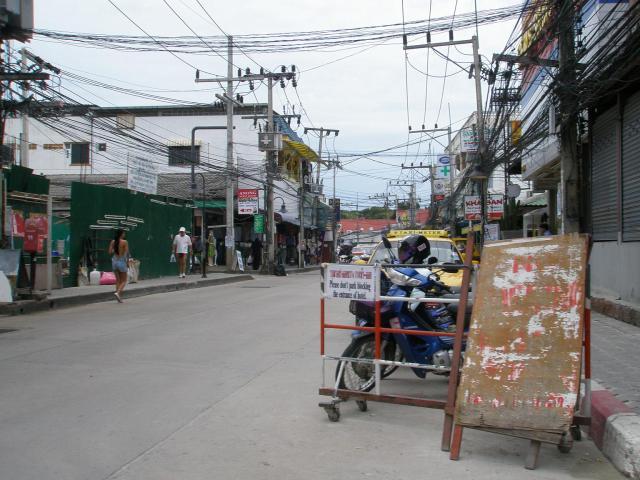 Dans les rues de chaweng