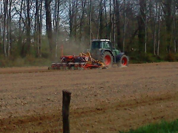 Semis de maïs 2010