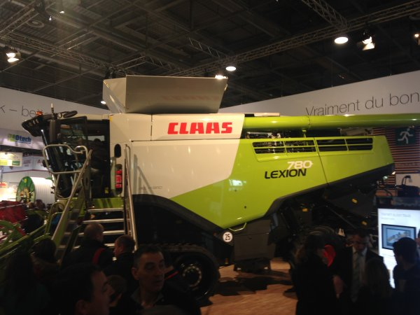 SIMA 2015 Stand CLAAS