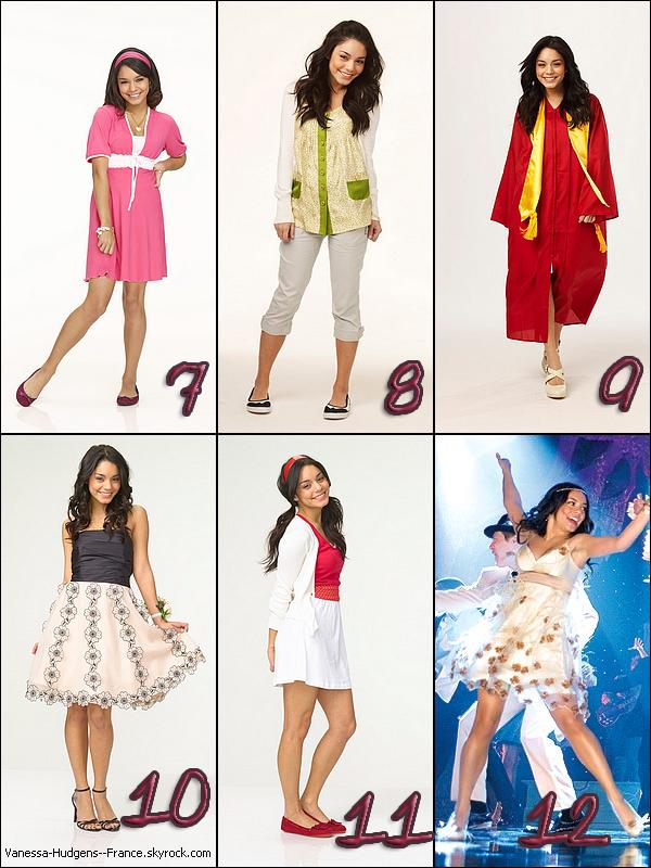 . Quelle tenue de Gabriella Montez préfères-tu ? .