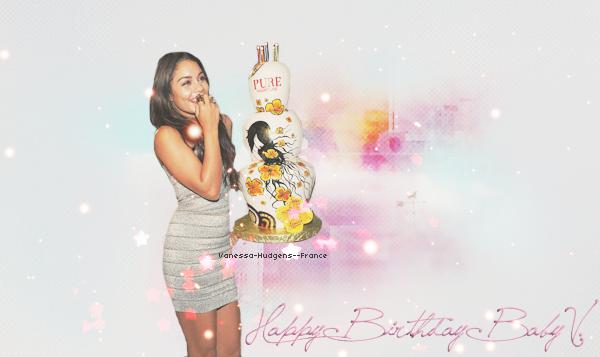 .   Happy Birthday Vanessa Hudgens !  :D  .