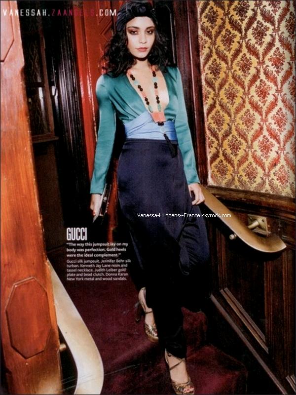. ___Photoshoot où Vanessa est très chic pour le magazine Instyle.___ Dis moi ce que tu en penses..