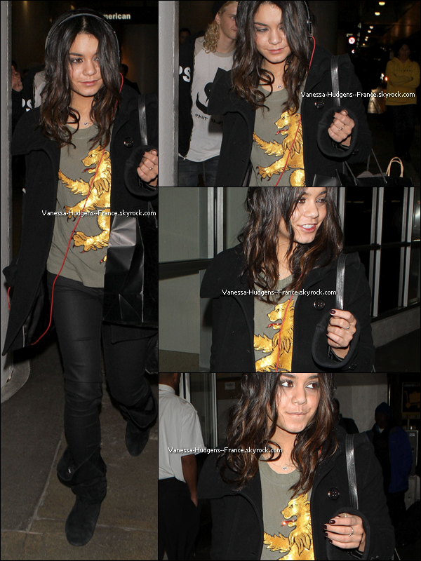 """* 03 Mars 2011 : Vanessa dans l'émission """"The Seven"""". *"""