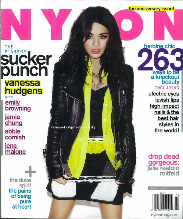 * Scan du magazine Nylon du mois d' Avril_____________Tu aimes ? *
