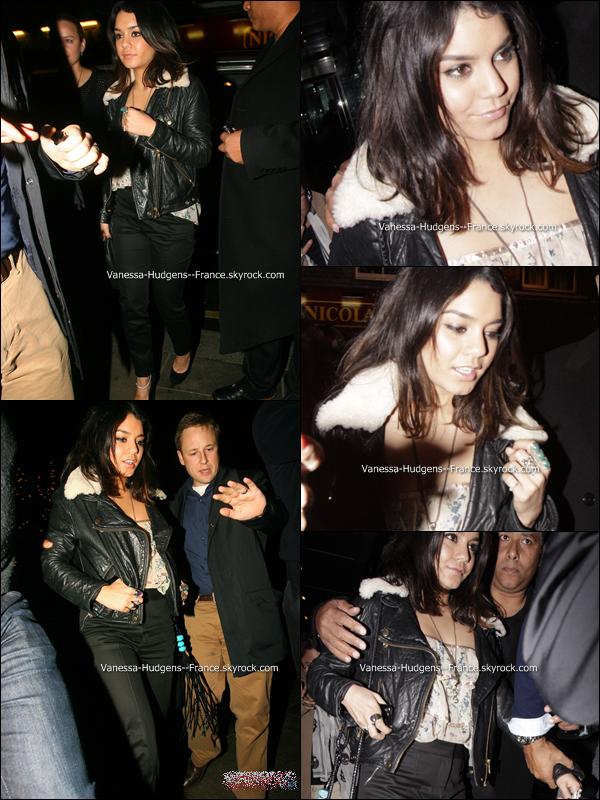 . 30 Mars 2011 : Vanessa à l'avant première de Sucker Punch à Londres. .