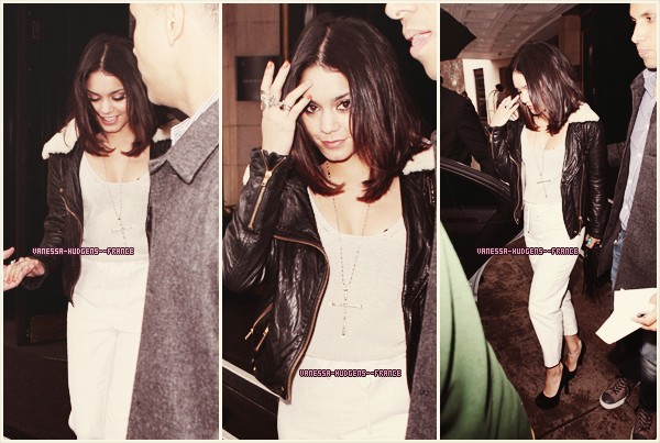 * 01 Avril 2011 : Vanessa sortant du Dorchester hotel à Londres._____Top ! *
