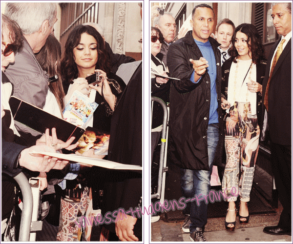 * 01 Avril 2011 : Vanessa sortant du Dorchester hotel à Londres._____Top ! *