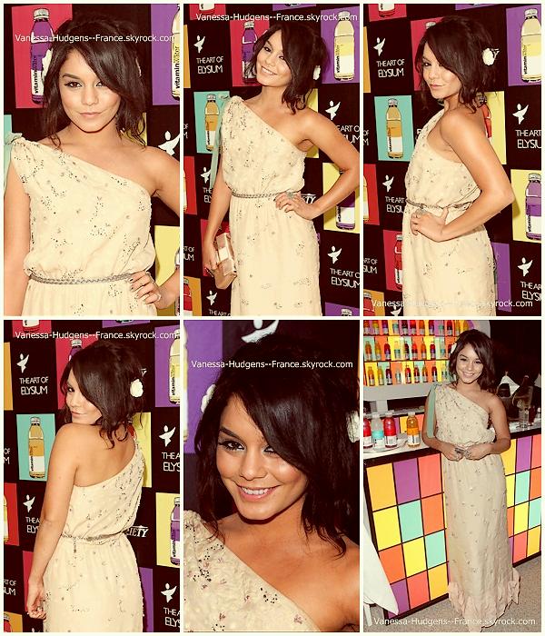 .  15 Mai 2011 : Vanessa à Art of Elysium 3rd Annual Paradis toujours à Cannes. ___Magnifique ! .
