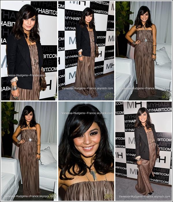 .  18 Mai 2011 : Vanessa à la soirée de lancement de MyHabit.com à New York._____Top ! .