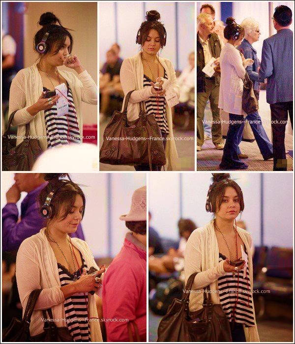 . 21 Mai 2011 : Vanessa à l'aéroport de LAX. .