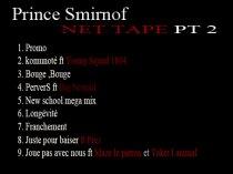 PRINCE SMIRNOFF net tape gratuit