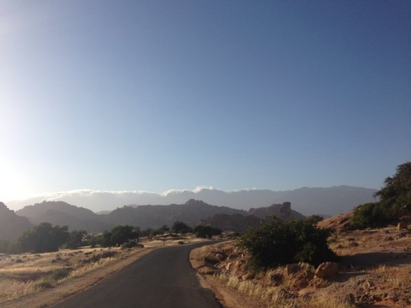 1ère journée de reco pour le rallye du Maroc historique