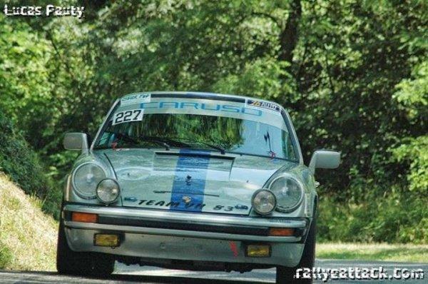 Rallye de le Drome 2013. En course.