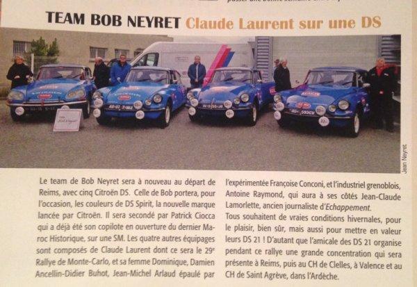 Rallye de Monté Carlo historique 2015