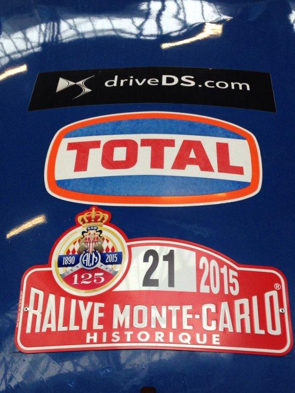 Rallye de monté Carlo historique 2015 - verifs et concentration.