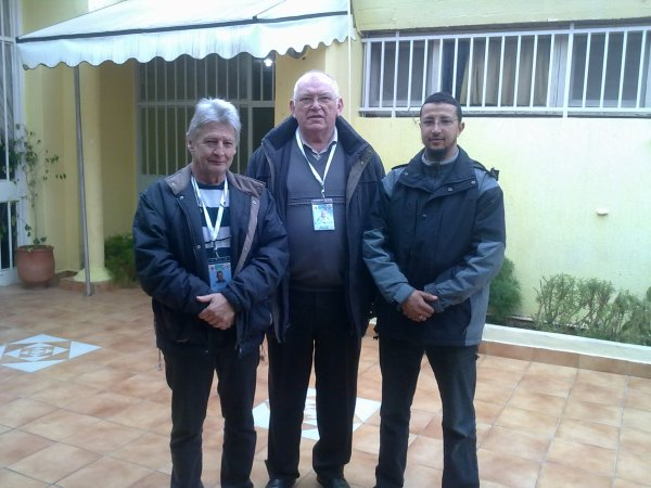 mon stage avec les 2 juges le 16 et 17 /02/2013 a Salé Chompionat UOM malinois waterslager
