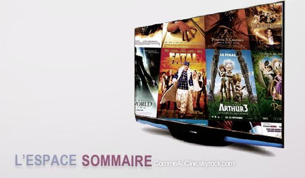 »-COMMEAUCINE.SKYROCK.COM -» La Performance Du Cinema Sur Un Même Site...  »-Le Sommaire