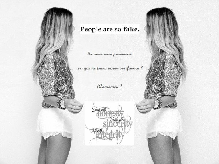 Tu veux une personne ...