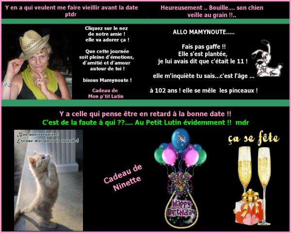 ..... MA PREMIERE RESOLUTION DE L'ANNEE !!....