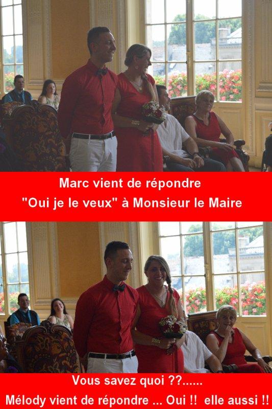 (l)(l)(l)    Mélody et Marc, le 03 Juillet 2015    (l)(l)(l)