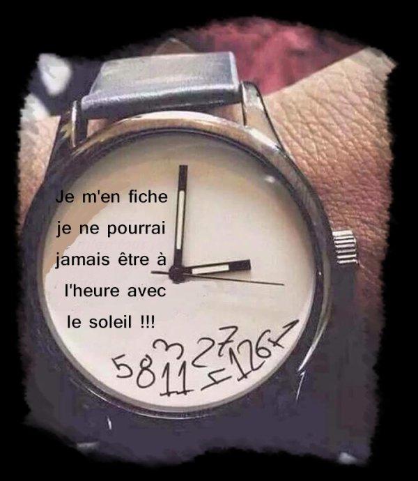 ★☼★☼..... L'HEURE D'ETE.....  ★☼★☼