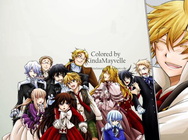 À tous les fans de Pandora Hearts: la série se termine avec son 23e tome!!